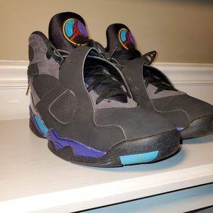 Original Jordan retro 8 aqua shoes